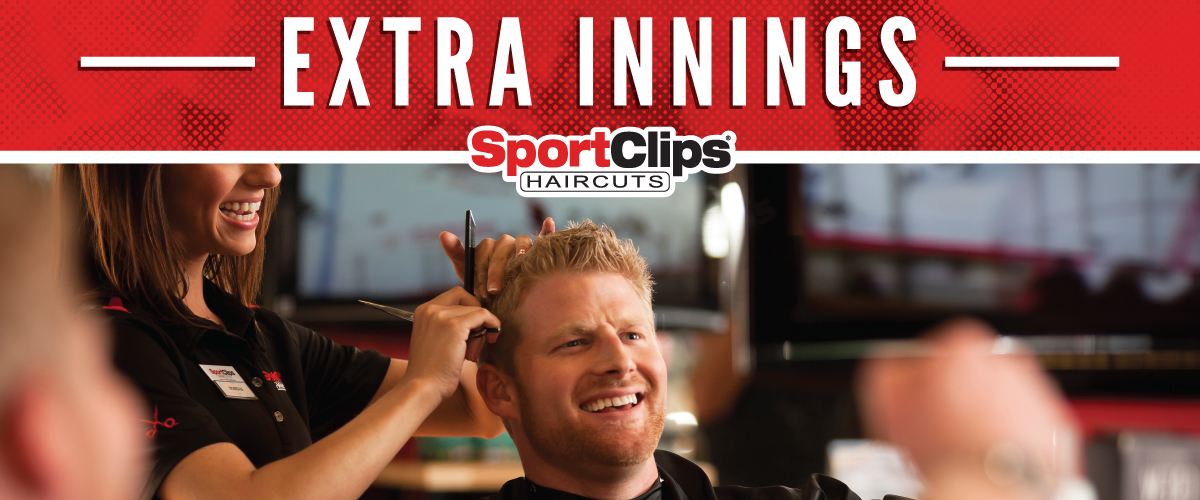 The Sport Clips Haircuts of Castleton Crossing Extra Innings Offerings